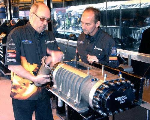 Top Fuel Dragster Engine Specs Car owner bill miller (left)